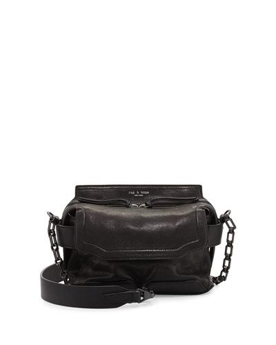Pilot Micro Leather Satchel Bag