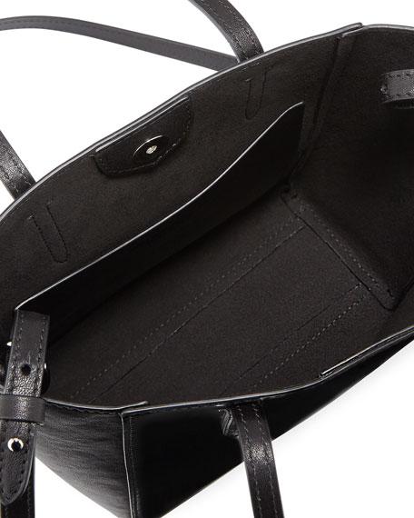 Patent Mini Modern Tote Bag