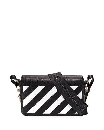 Diagonal Square Mini Flap Bag