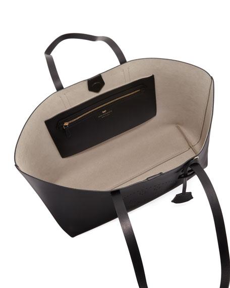Ebury Smiley Leather Shopper Bag