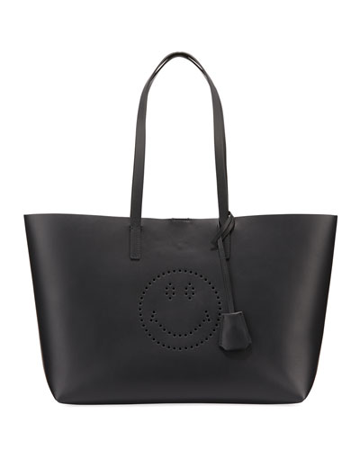 Ebury Smiley Leather Shopper Bag