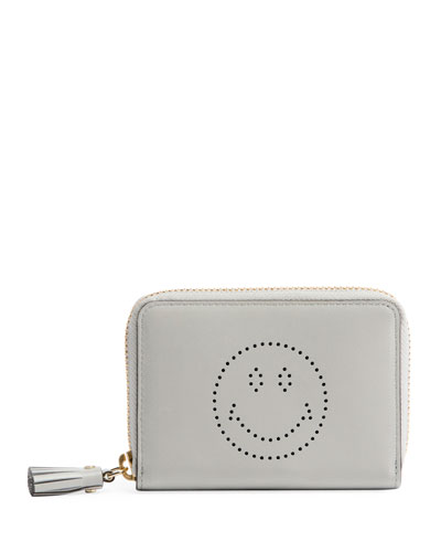 Small Zip Smiley Wallet