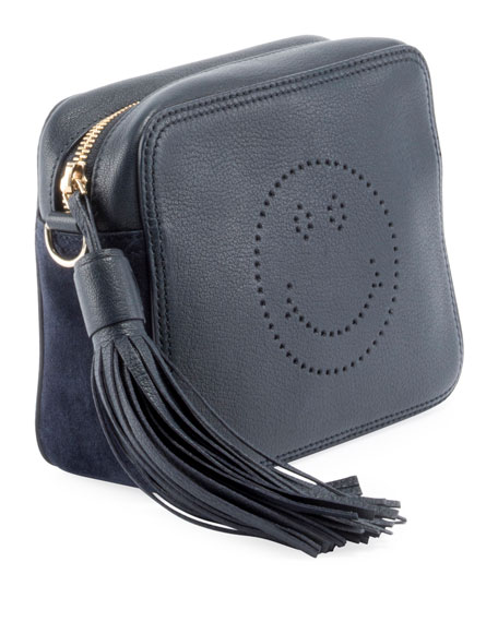 Crossbody Smiley Tassel Bag