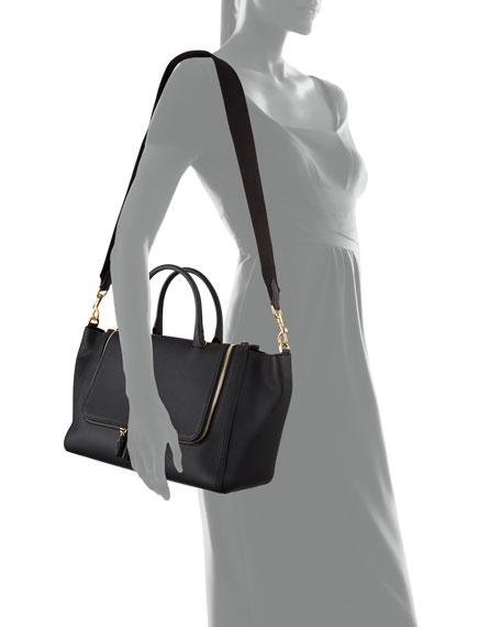 Vere Mini Grained Leather Tote Bag