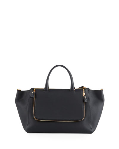Vere Mini Grained Leather Tote Bag