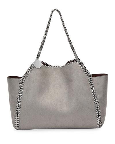 fa59d4b29aab0 Falabella Medium Shaggy Deer Reversible Tote Bag Quick Look. Stella  McCartney