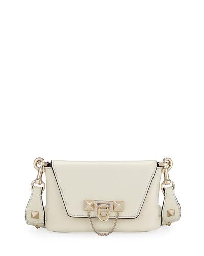 Demilune Leather Crossbody/Belt Bag
