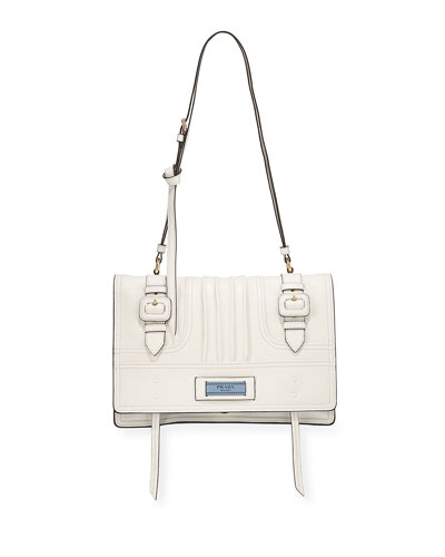 Medium Etiquette Patch Shoulder Bag