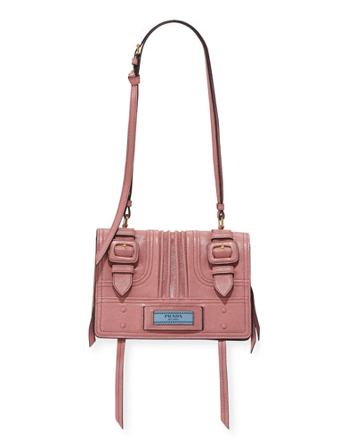 Etiquette Small Glace Calf Shoulder Bag