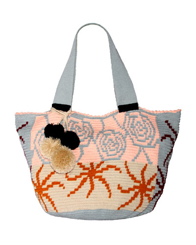 Jonas Crocheted Tote Bag