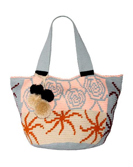 Jonas Crocheted Tote Bag