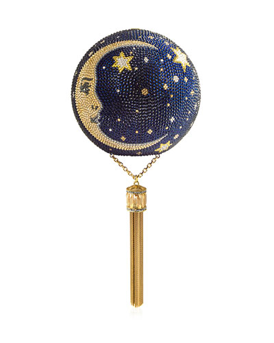 Man on the Moon Crystal Sphere Minaudiere