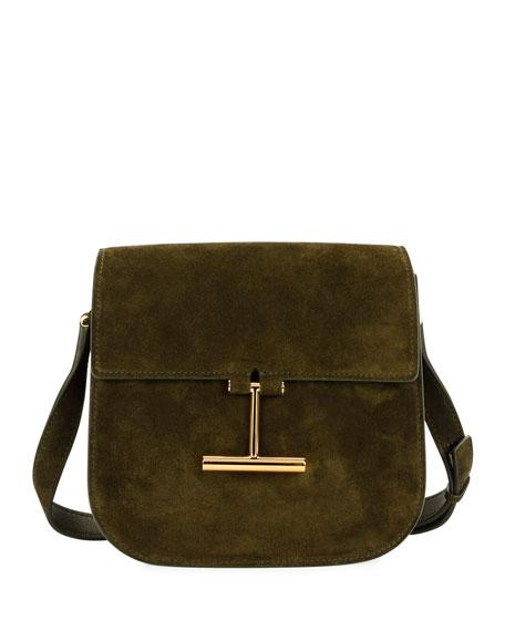 Tara Suede Small Shoulder Bag