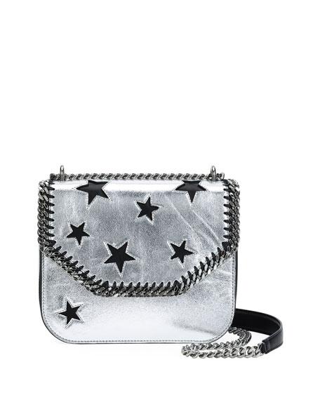 Falabella Metallic Stars Shoulder Bag
