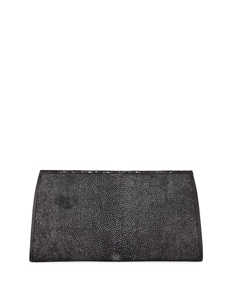 Slicer Stingray & Crocodile Clutch Bag
