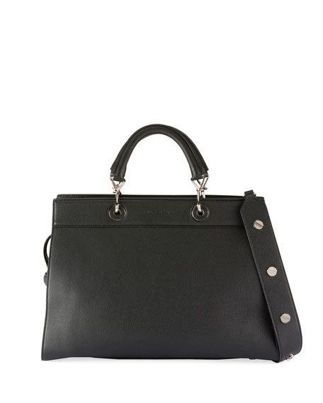 Small Shadow Leather Tote Bag
