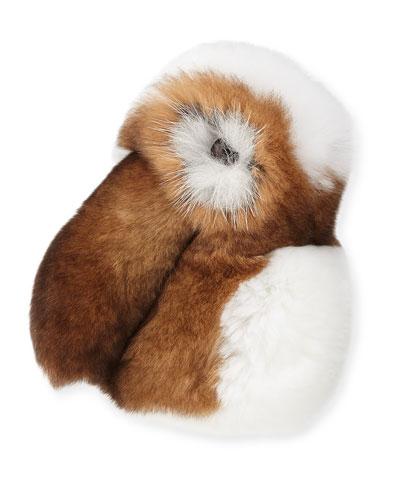 My Spring Bunny Fur Charm