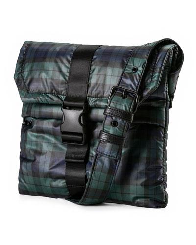 Plaid Envelope Bag