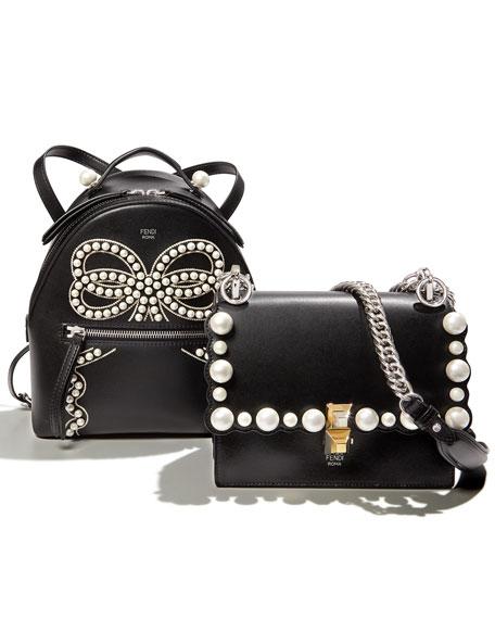 Liberty Vitello Leather Bow Backpack