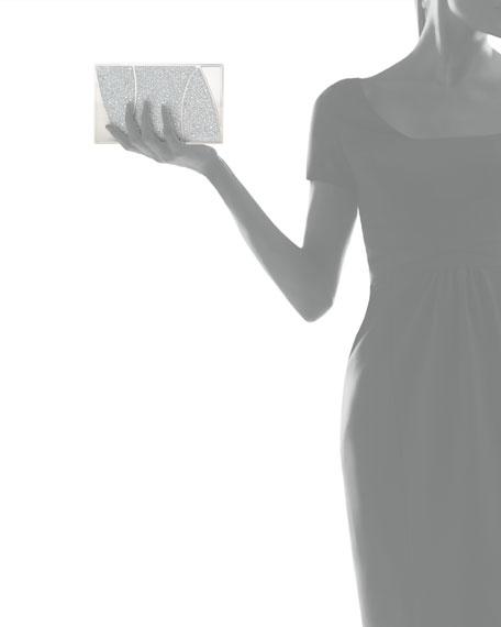 Marchese Swarovski® Crystal Clutch Bag, Silver