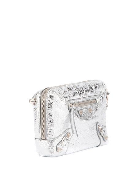 Classic Reporter XS Chain Lamb Leather Crossbody Bag
