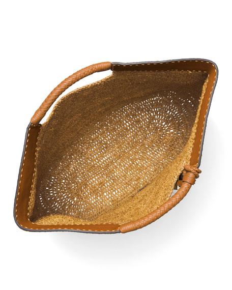 XL Market Raffia Tote Bag