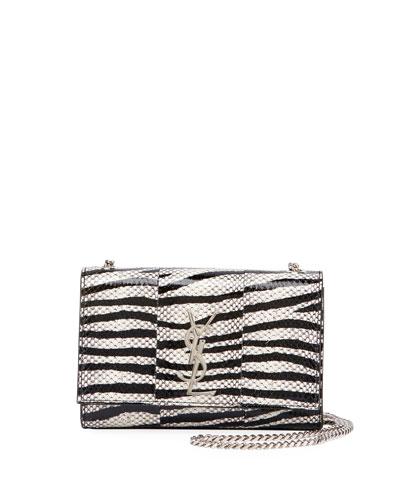 Monogram Kate Small Snake Chain Shoulder Bag