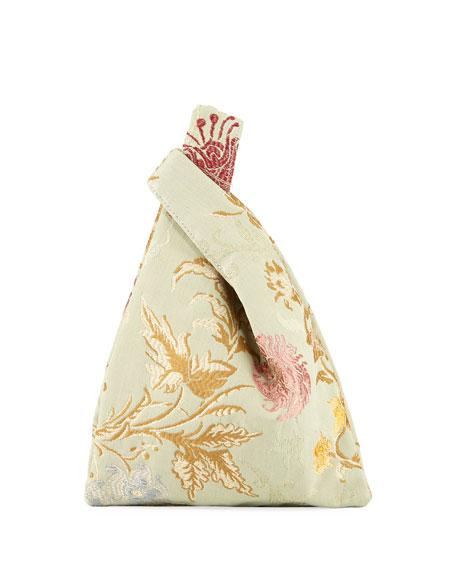 Mini Venetian Jacquard Shopper Tote Bag