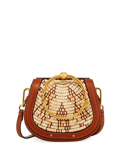Nile Small Woven Bracelet Bag