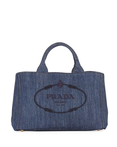 Large Denim Tote