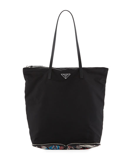 LARGE TESSUTO SHOPPER TOTE BAG