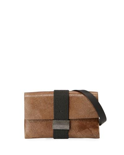 Stardust Leather Crossbody Bag