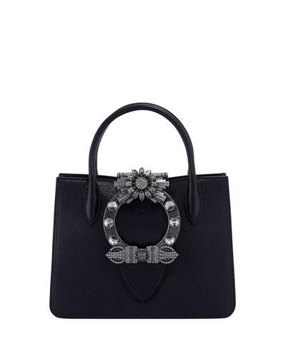 Miu Lady Crystal Tote Bag