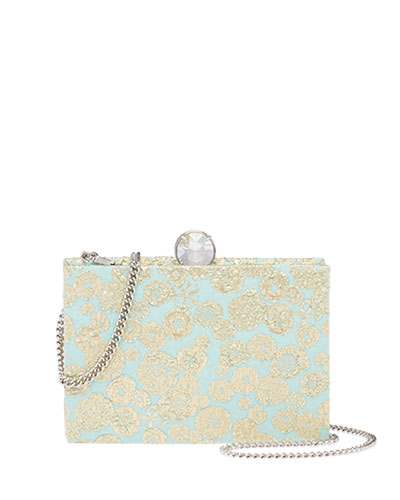 Brocade Box Clutch Bag