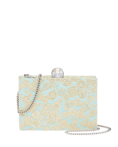 Brocade Box Clutch Bag