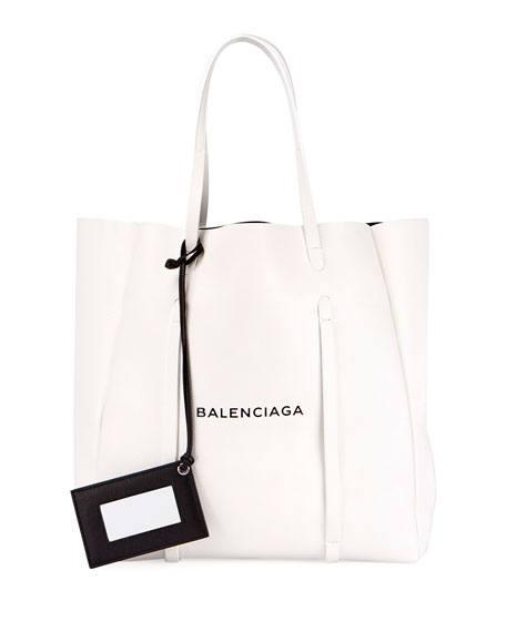 Everyday XS Logo Leather Tote Bag