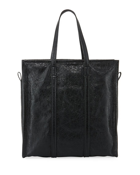 68df735bec4 Balenciaga Bazar Medium Leather Shopper Tote Bag, Black