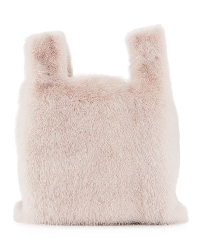 Furrissima Mink Fur Tote Bag