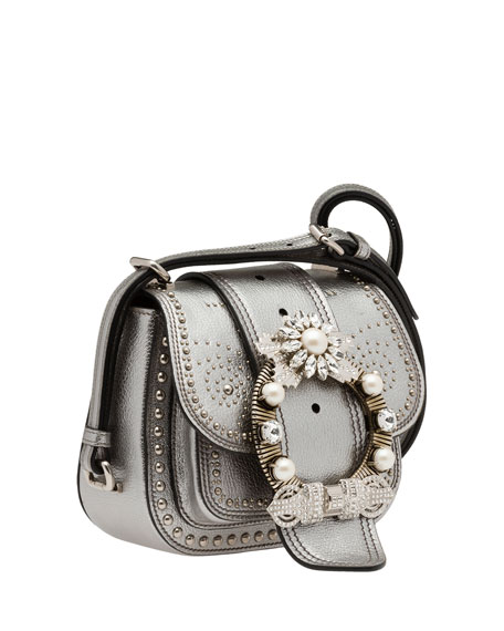 Embellished Lady Saddle Bag