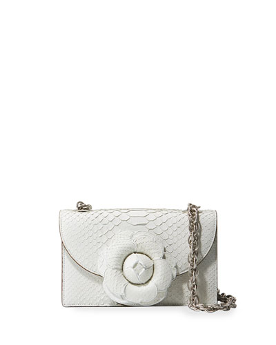 Python Trio Gardenia Crossbody Bag