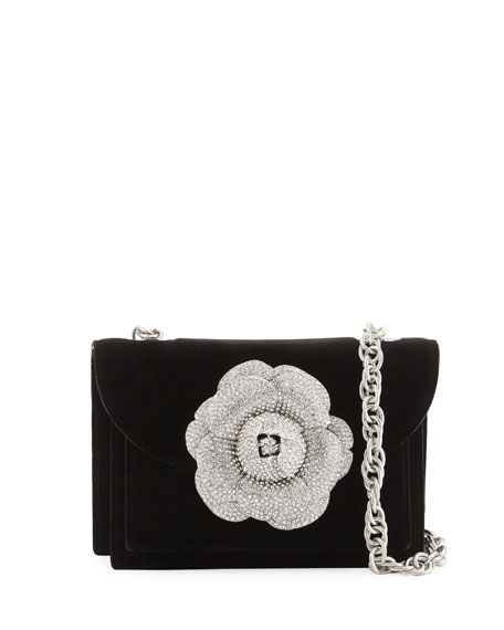 Velvet Gardenia Shoulder Bag