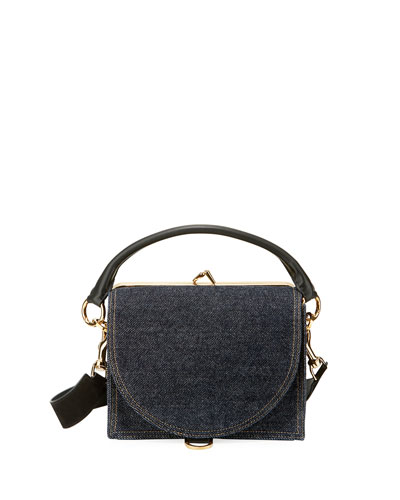 Denim Satchel Bag