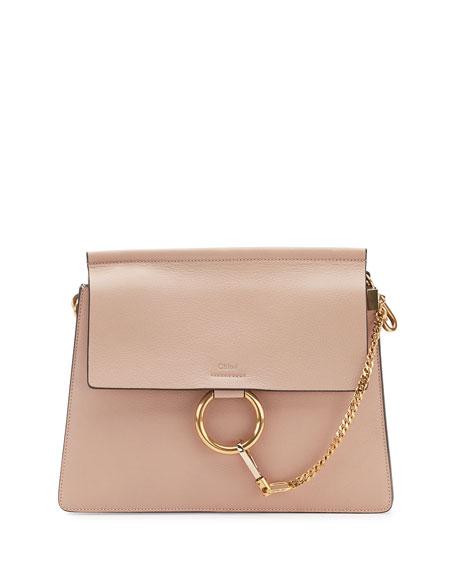 c38140e410 Faye Medium Leather Shoulder Bag