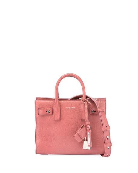 Saint Laurent Sac de Jour Leather Nano Carryall Bag 2a0f9a871c2db