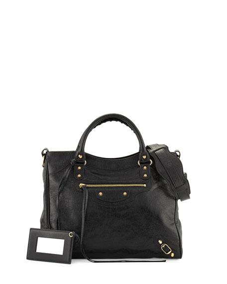 bb65a99935c1b Balenciaga Classic Velo Lambskin Tote Bag