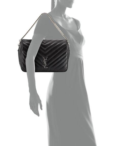 0f620d42eaa2 Saint Laurent Monogram Large Slouchy Matelassé Leather Shoulder Bag