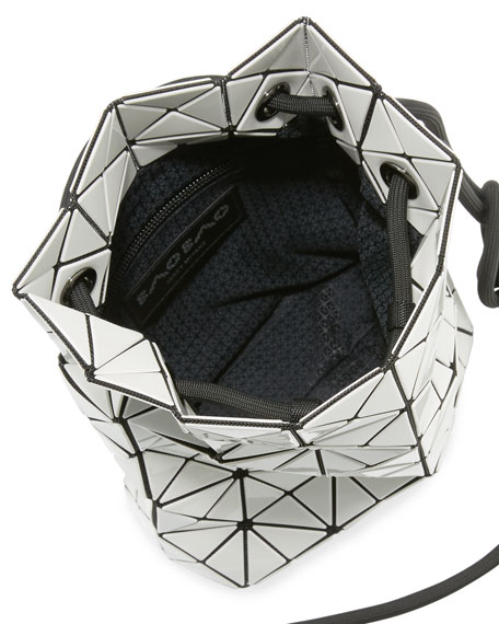 Wring Faux-Leather Prism Bucket Bag
