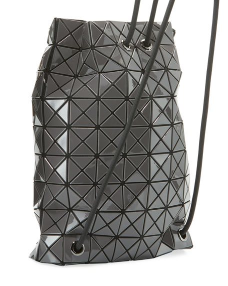 Wring Faux-Leather Prism Backpack