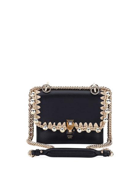 Kan I Pearly Edge Chain Shoulder Bag