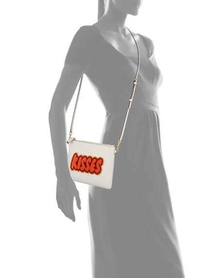 KISSES Crossbody/Wristlet Pouch Bag